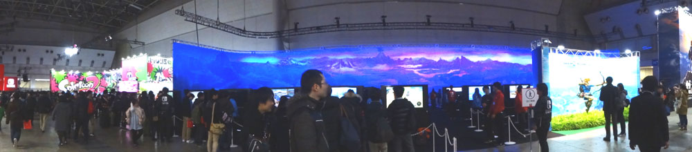 07_Nintendo Switch 体験会 2017 inビッグサイト 場内の全景
