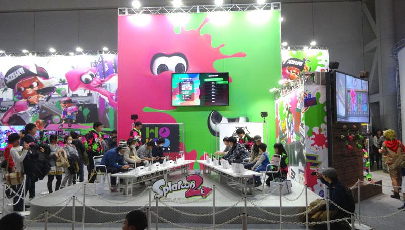 12_Nintendo Switch 体験会 2017 inビッグサイト スプラトゥーン2