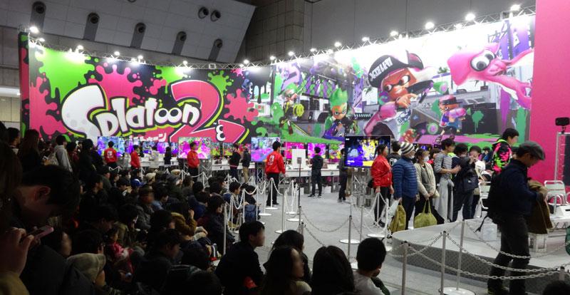 13_Nintendo Switch 体験会 2017 inビッグサイト スプラトゥーン2