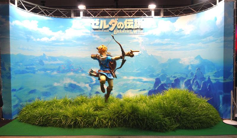 20_Nintendo Switch 体験会 2017 inビッグサイト ゼルダの伝説