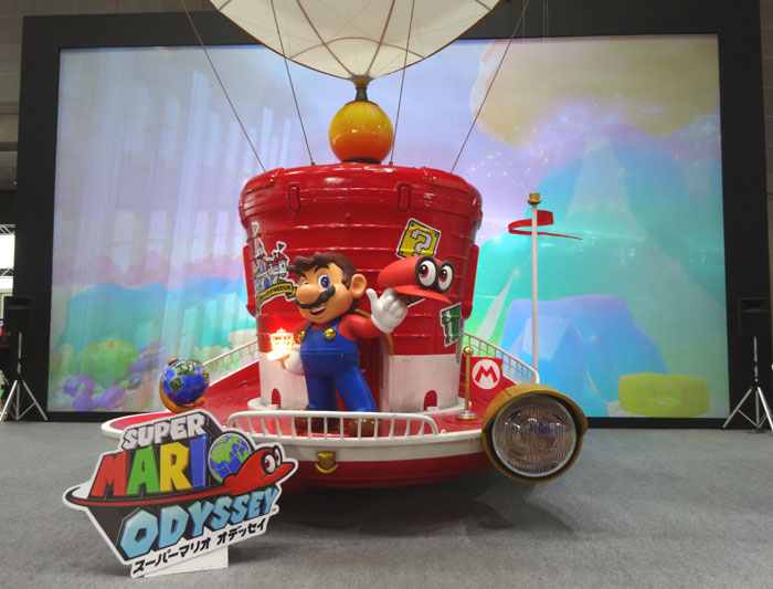 24_Nintendo Switch 体験会 2017 inビッグサイト スーパーマリオオデッセイ