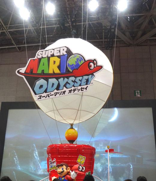 25_Nintendo Switch 体験会 2017 inビッグサイト スーパーマリオオデッセイ