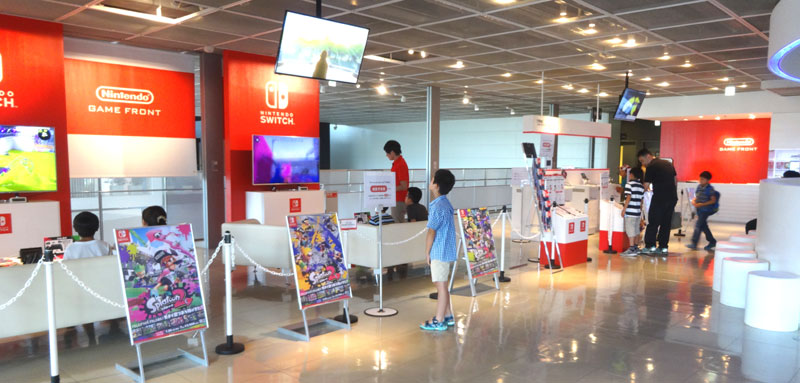 ニンテンドーゲームフロント in パナソニックセンター東京